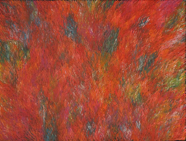 Barbara Weir 'Grass Seed' 91cm x 121cm #11374