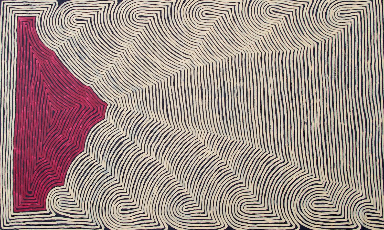 Ronnie Tjampitjinpa 'Untitled' 124cm x 204cm #14947