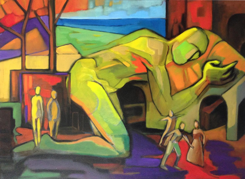 Sandro Nocentini 'In my dreams' 76cm x 102cm #15228