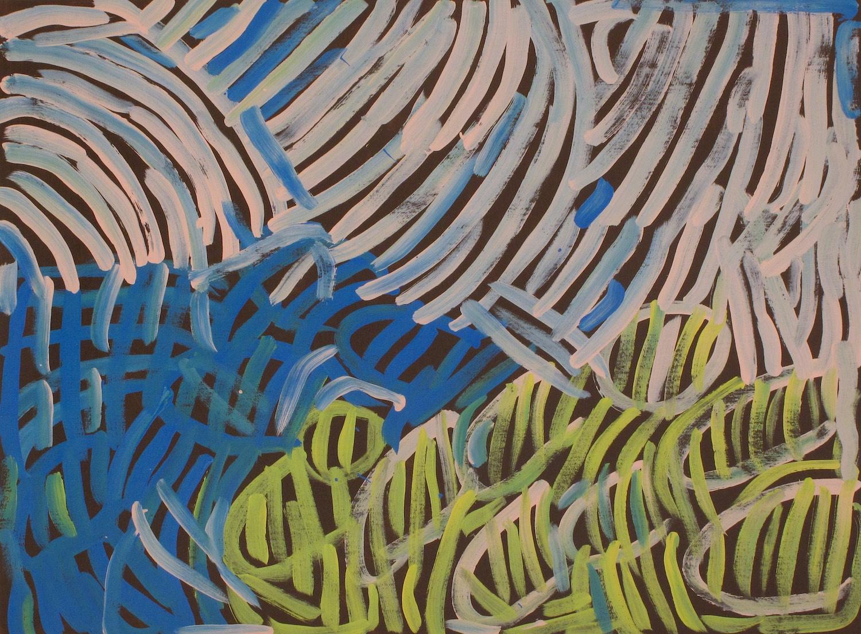Minnie Pwerle 'Awelye Atnwengerrp' 120cm x 90cm (2003) #15004