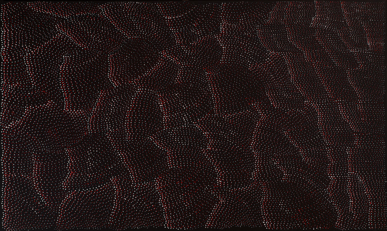 Lily Kelly Napangardi 'Tali Tali' 92cm x 153cm #10531