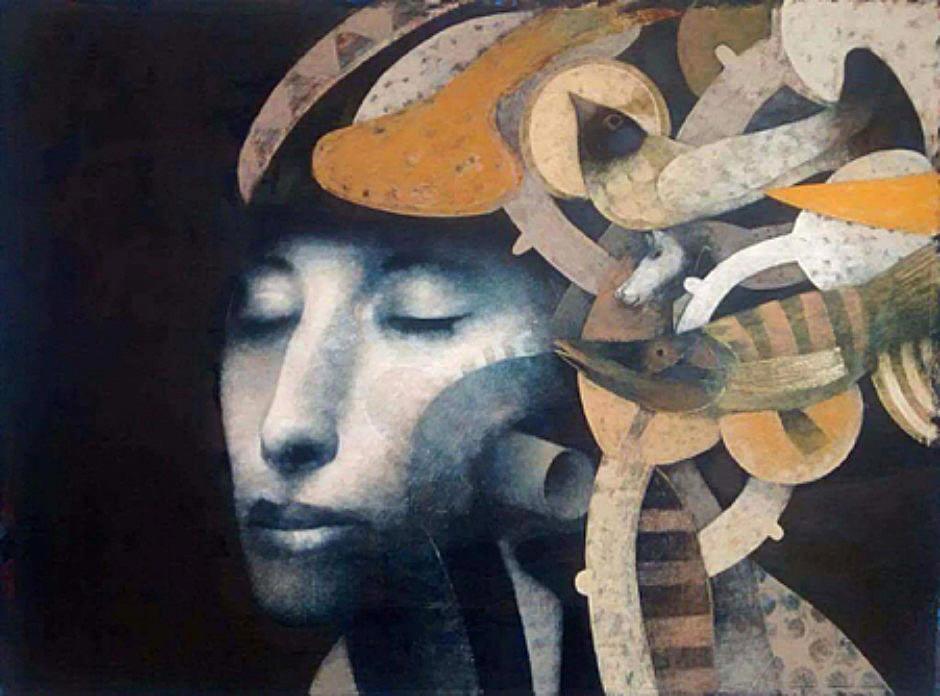 Joselito Sabogal Sofia's Dream Oil 76 x 57 c