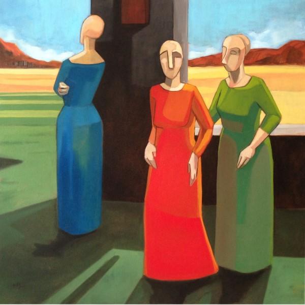 Sandro Nocentini ' Women Waiting' #15233