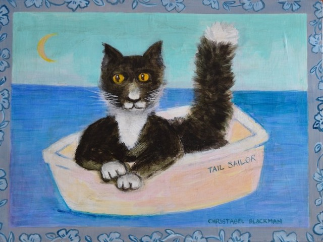 Christabel Blackman 'Tail Sailor : Sylvester takes his Tail for a Sail' #17301