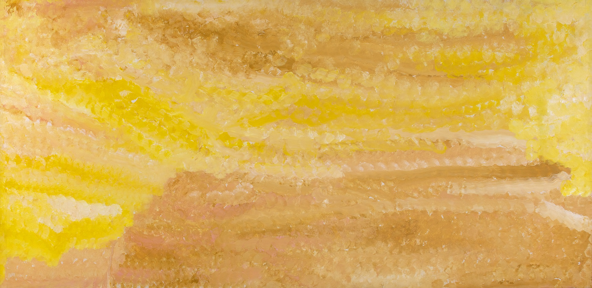 Emily Kngwarreye My Country (1994) 1994 Acrylic on Canvas 90 x 181 cm #16525