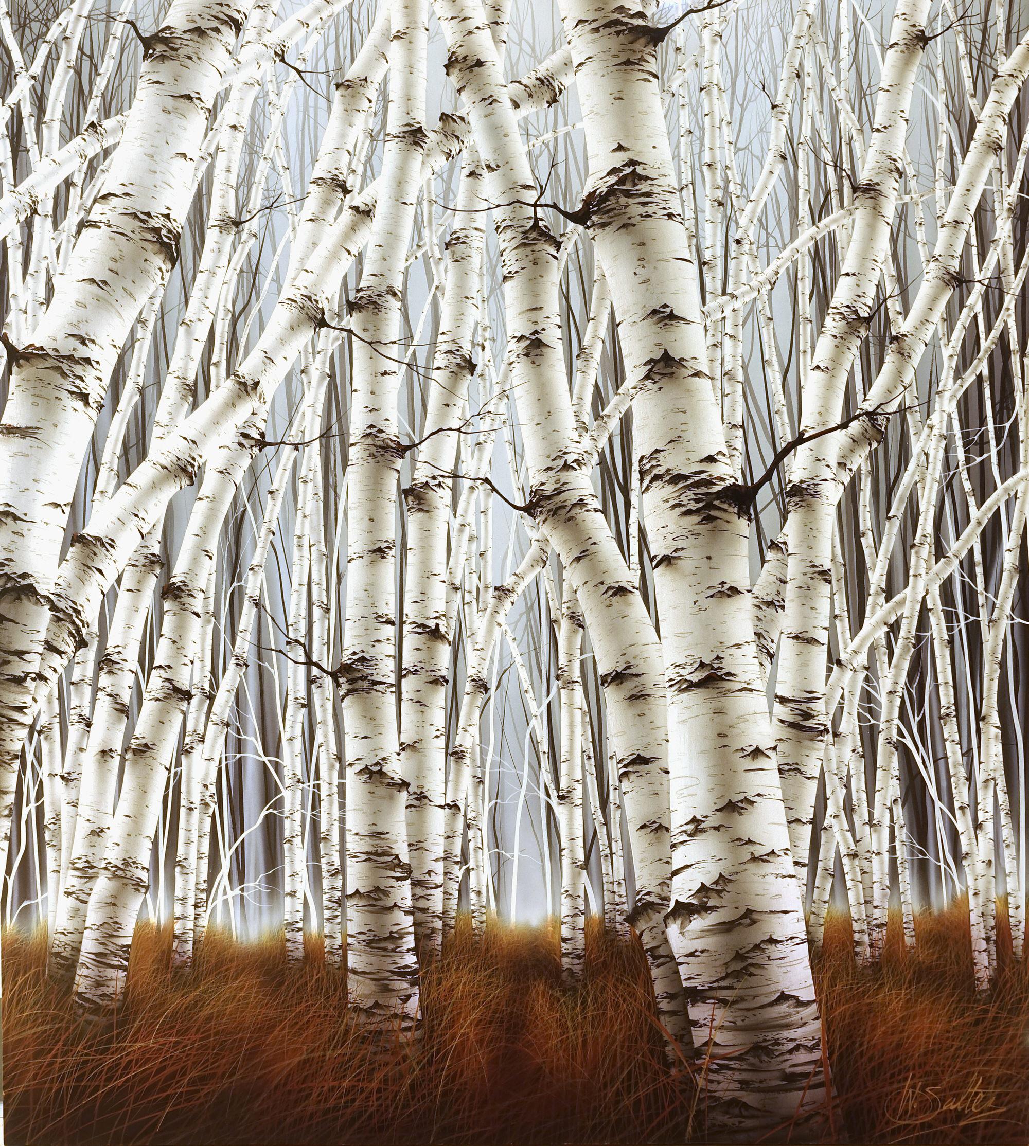 Warren Salter Beyond the Veil 170 x 150 cm
