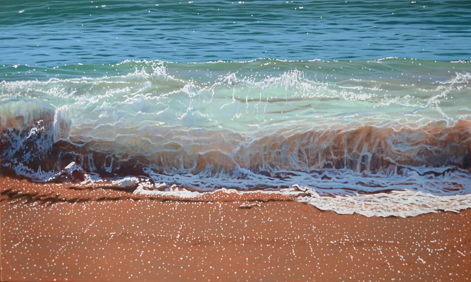 Paul Haggith Shorebreak No. 11 93cm x 154cm