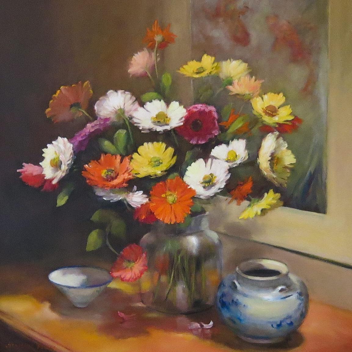 Jacqueline FowlerZinneas II, 2018 Oil on Canvas76 x 76 cm.jpg