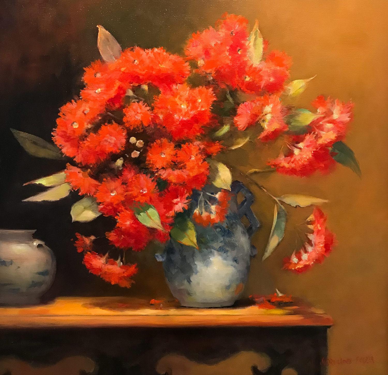 Jacqueline FowlerFlowering Gum, 2018 Oil on Canvas51 x 51 cm.jpg