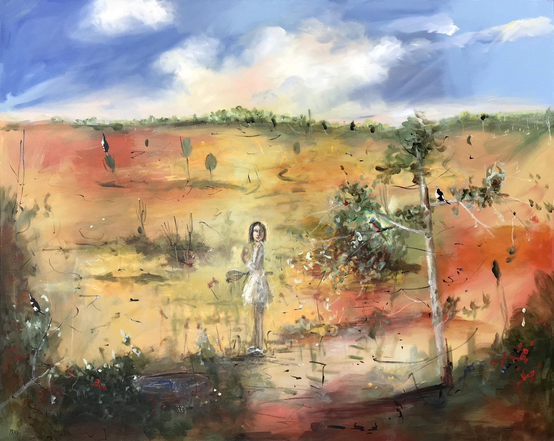 Terry Pauline PriceOn the Way to Jennis, 2019 Mixed Media on Canvas 152 x 122 cm.jpg