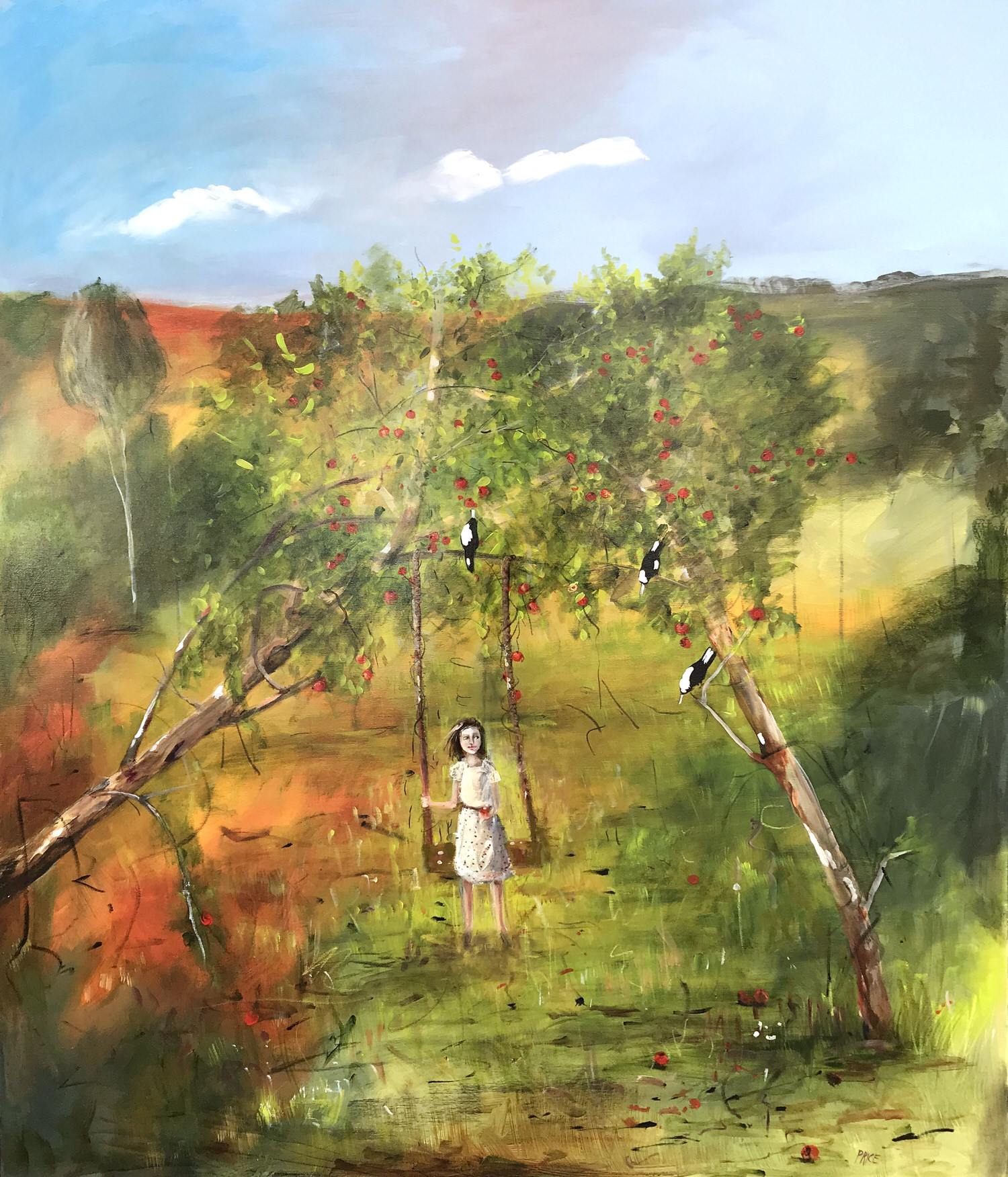 Terry Pauline PriceThe Old Orchard, 2019 Mixed Media on Canvas 152 x 122 cm.jpg
