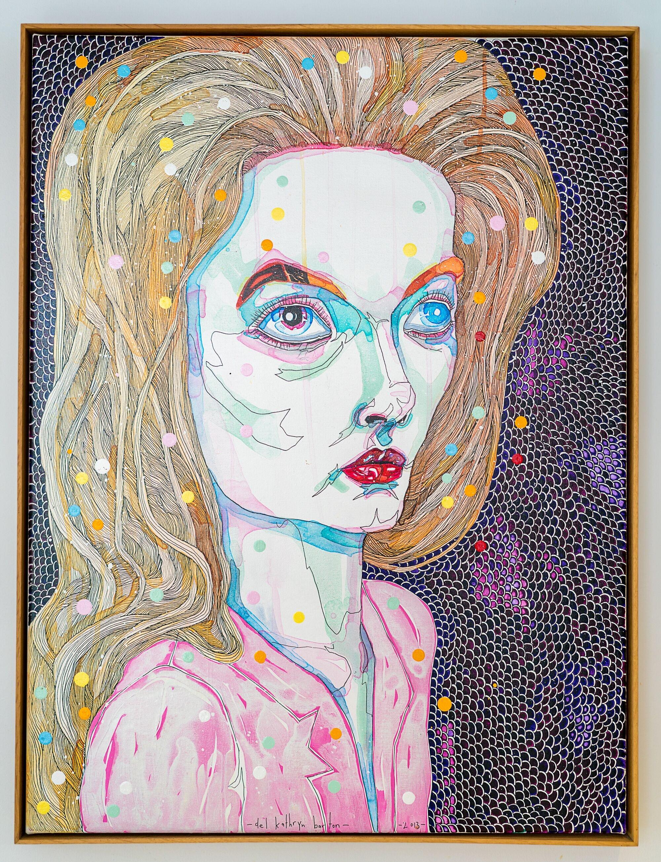 Del Kathryn BartonTo Hold 5, 2013 Acrylic,Water Color, Gouache & Ink on Canvas82 x 62 cm.jpg