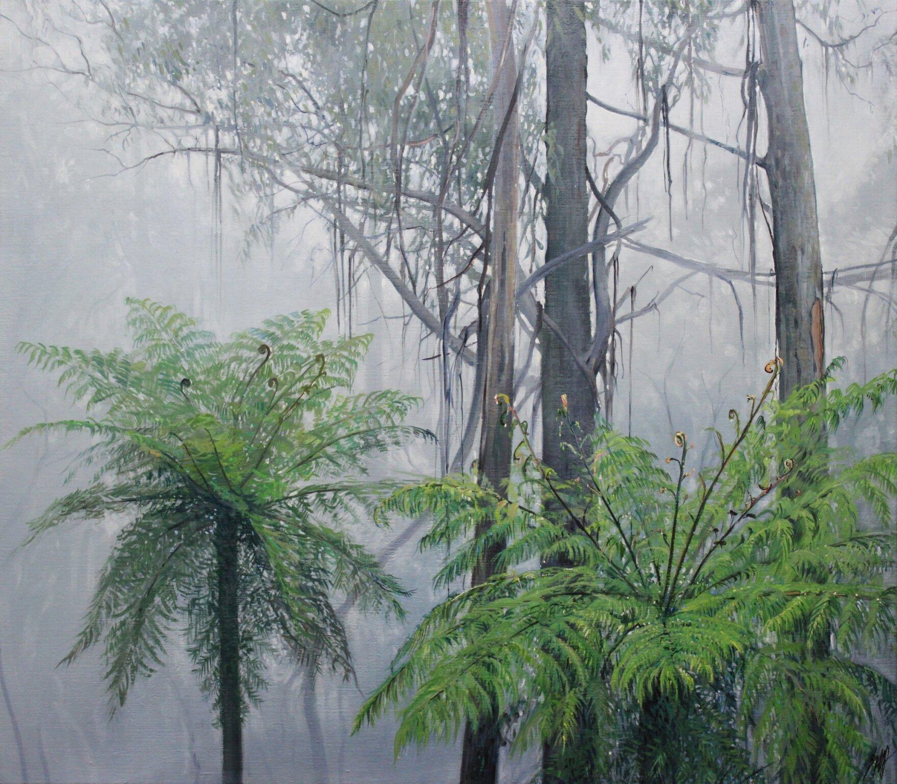 Paul EvansMisty Morning, 2019 Acrylic on Belgian Linen107 x 122 cm.jpg