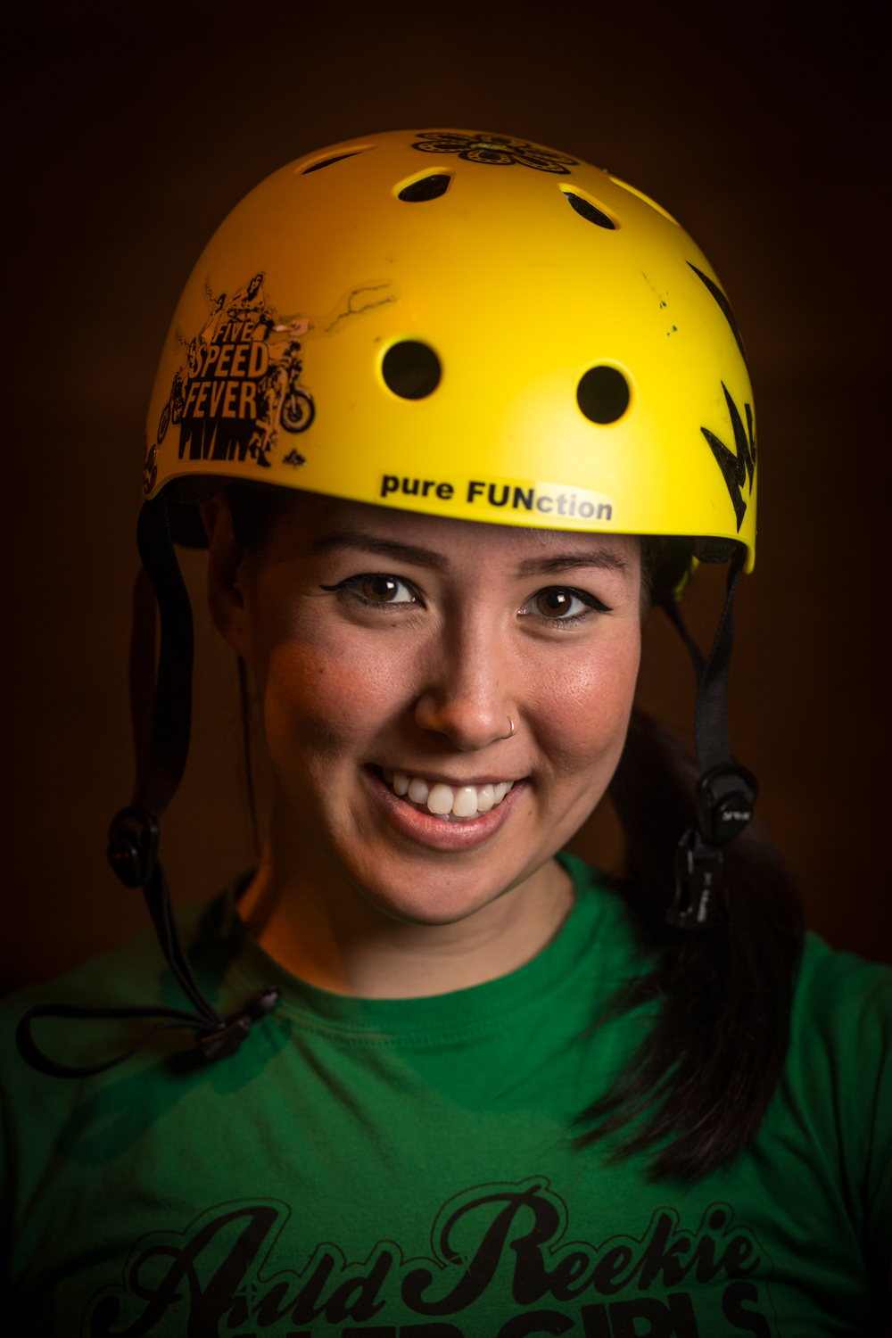 Auld Reekie Roller Girls headshots 2015 1