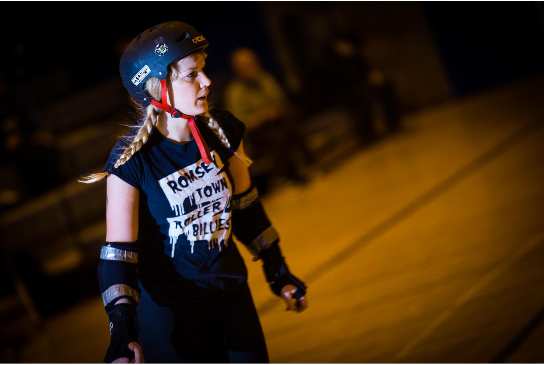 Auld reekie roller girls verus Cambridge roller billies Edinburgh roller derby