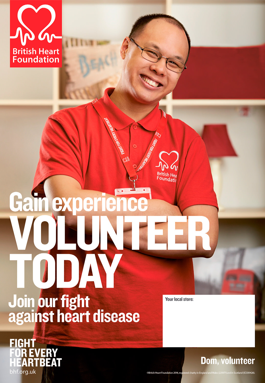 British Heart Foundation Volunteering Campaign