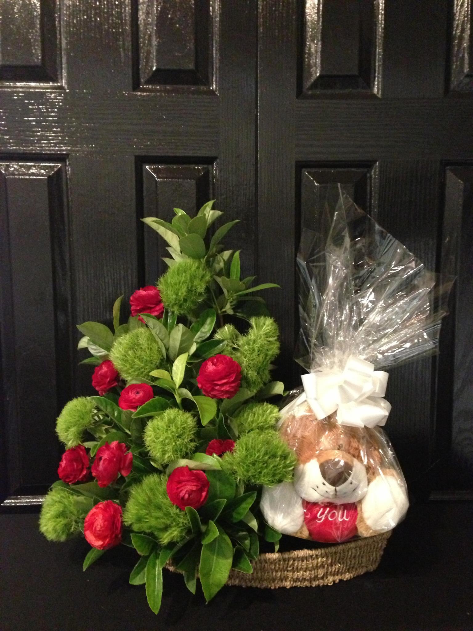 Valentine's Day - Floral and Lion Package