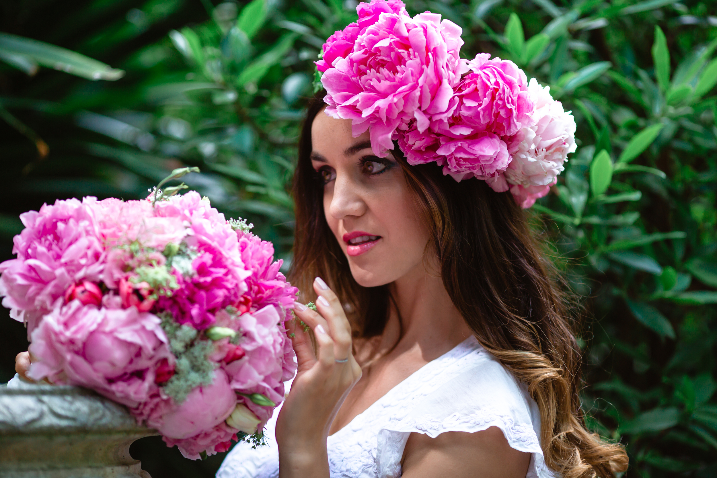 Garden Wedding - Floral Crown and bridal bouquet 4.jpg