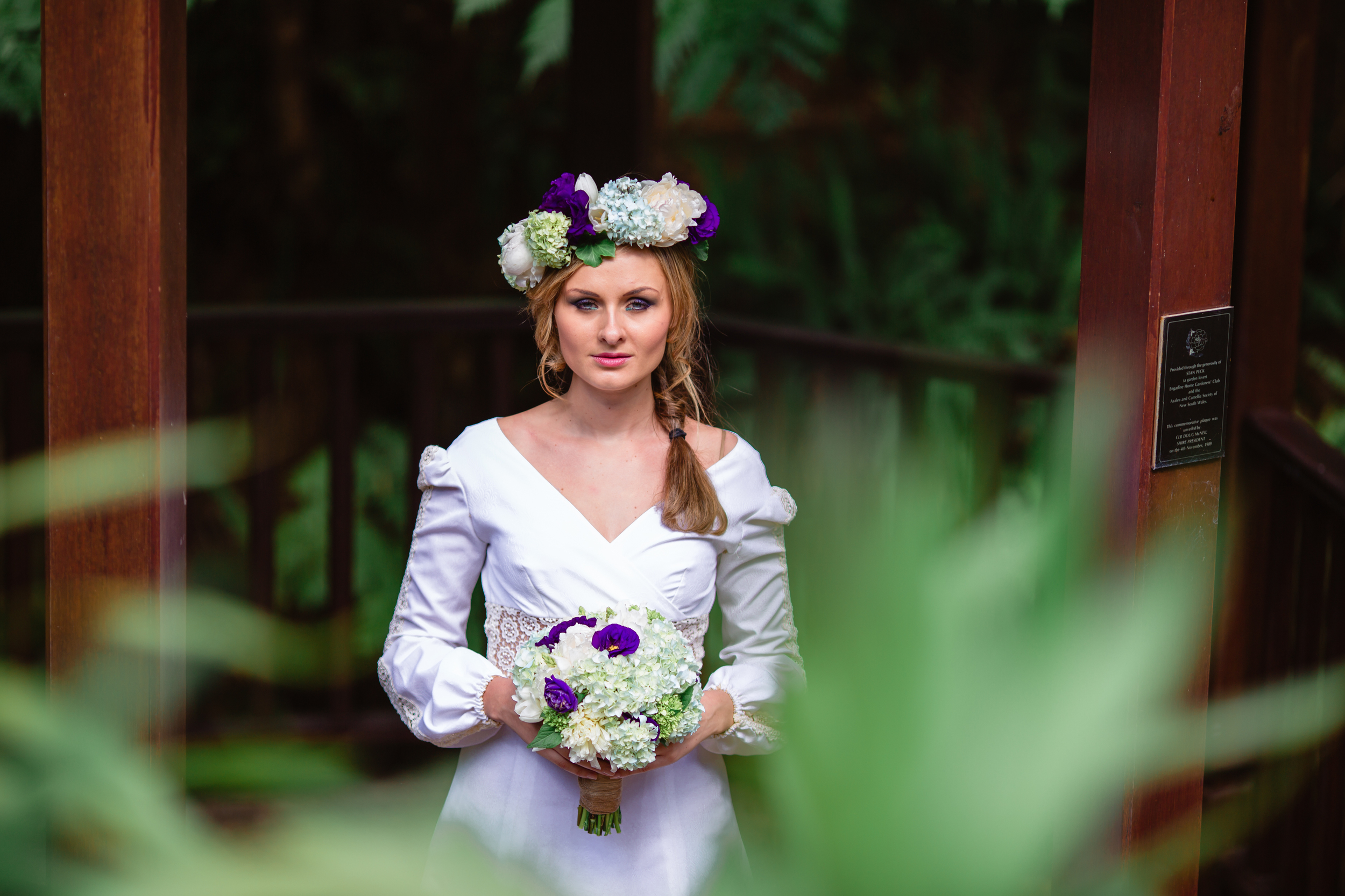Garden Wedding - Floral Crown and bridal bouquet 8.jpg