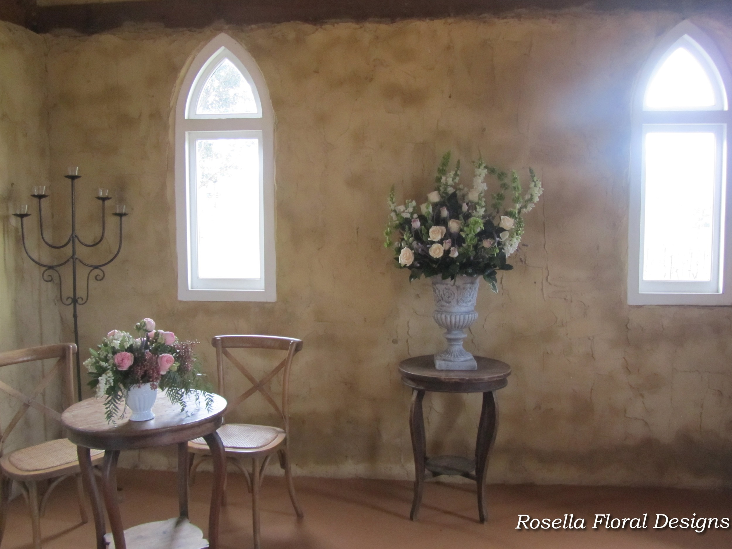 Chapel flowers for country rustic wedding.jpg