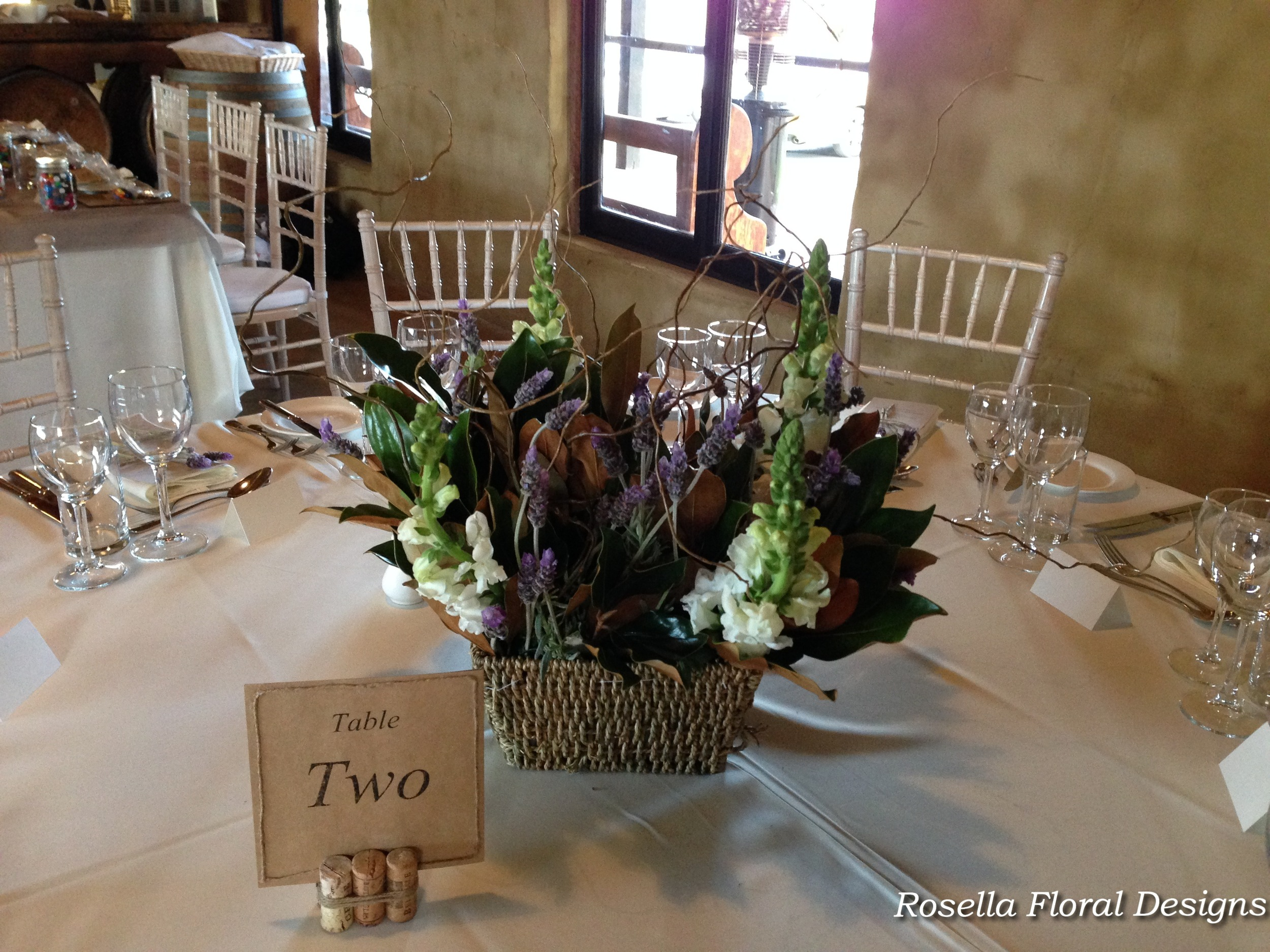 Rustic country style wedding table centerpiece.jpg