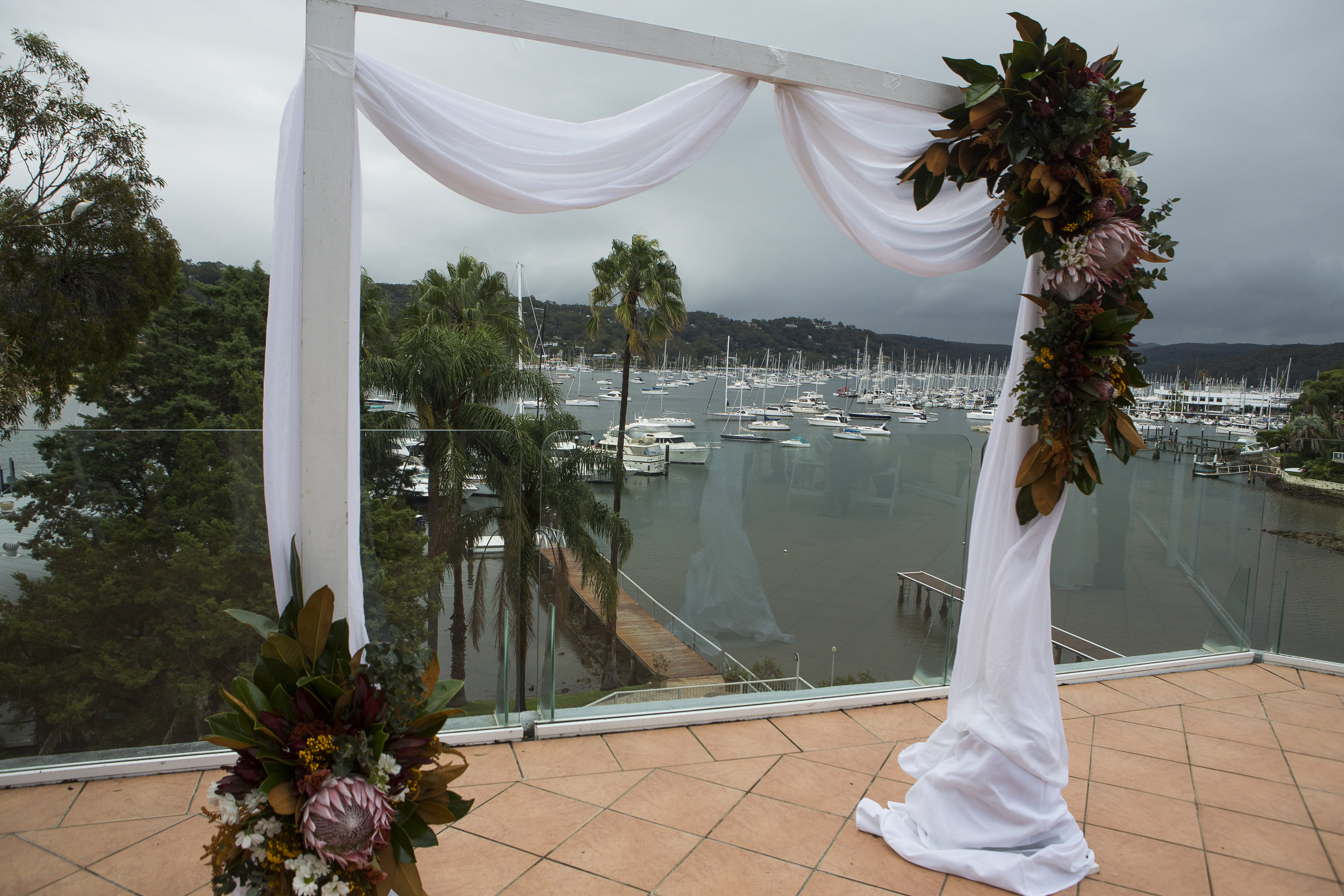 Wedding arch Australian native flowers.jpg
