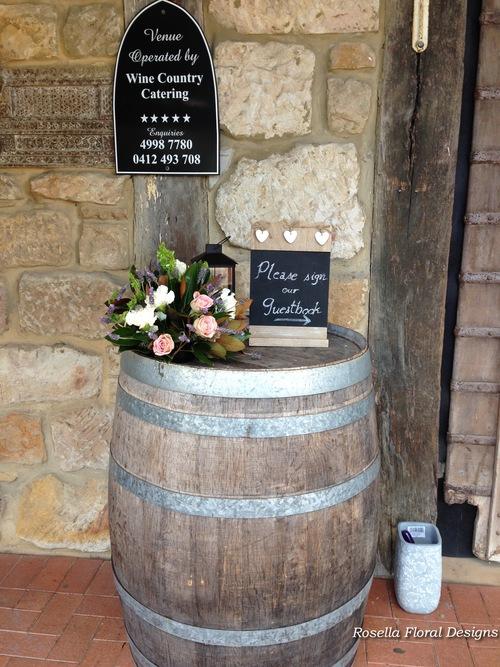 Flowers on barrels .jpg