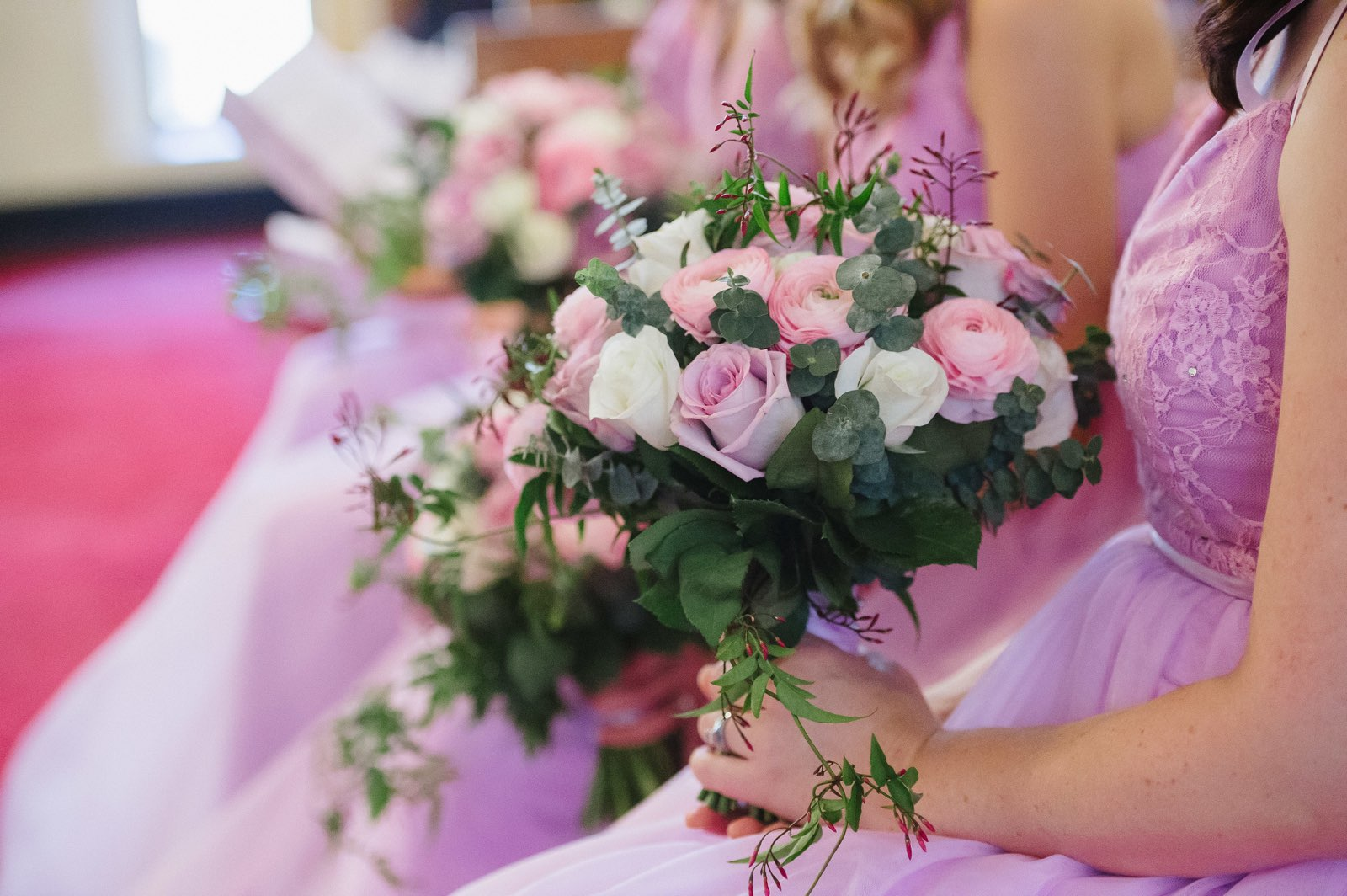 Bridesmaid's bouquet lilac pink white.jpg