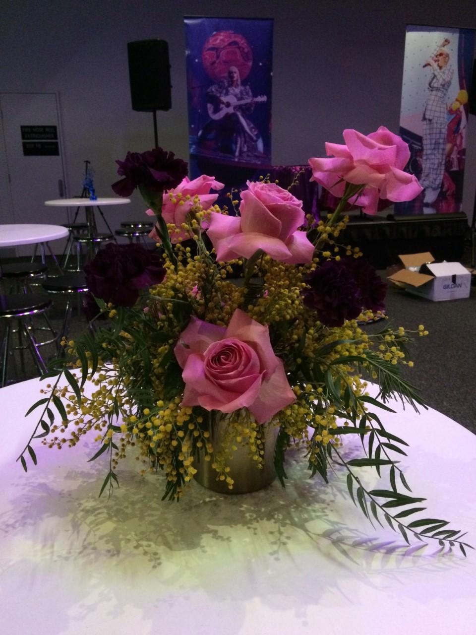 Flowers in a golden vase.jpg