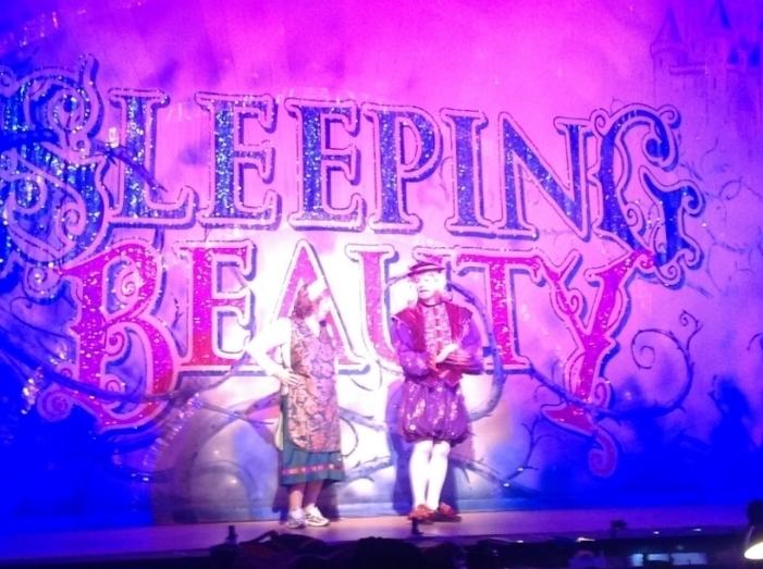 Sleeping Beauty  in rehearsal