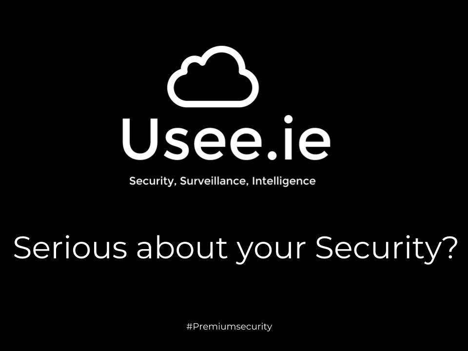 Are your serious about your security?