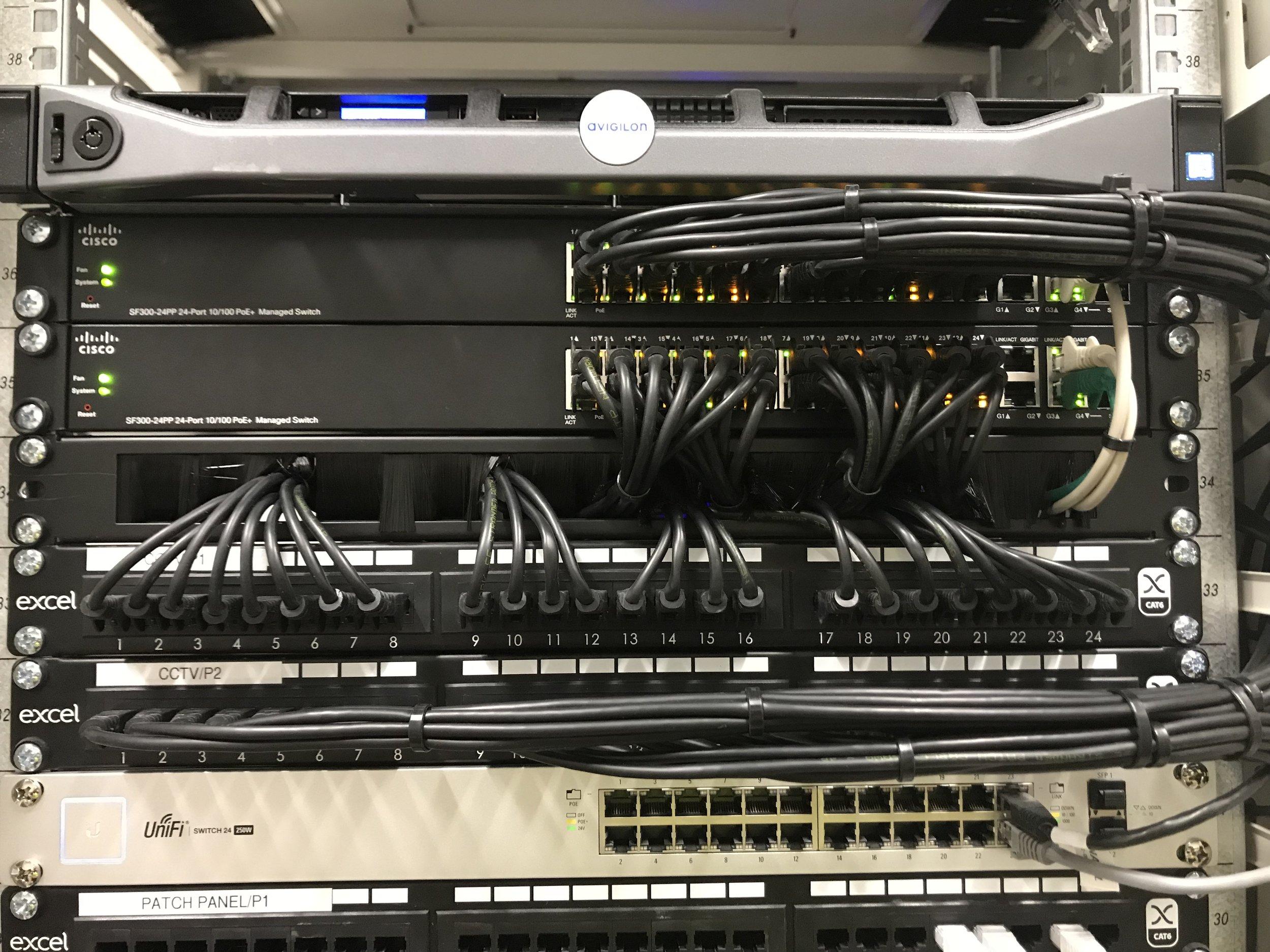 NVR3 rack mounted server