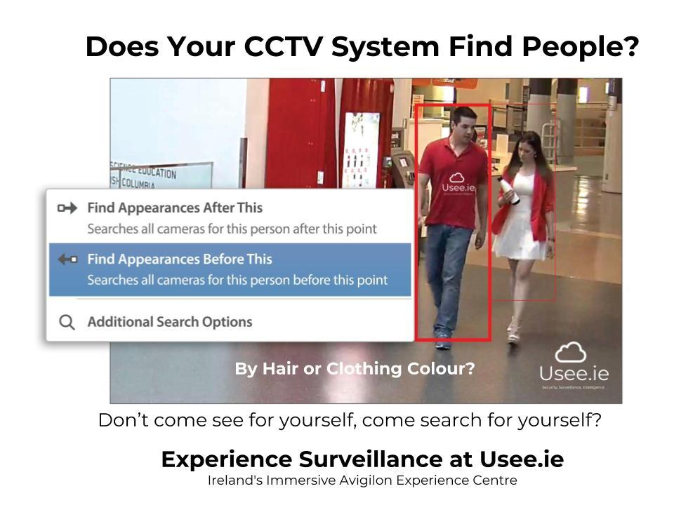 Avigilon Experience Surveillance by Usee.ie