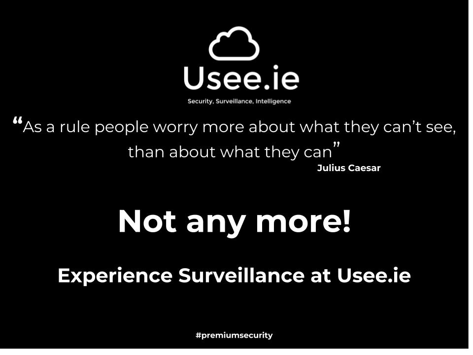 CCTV by Usee.ie Dublin Ireland