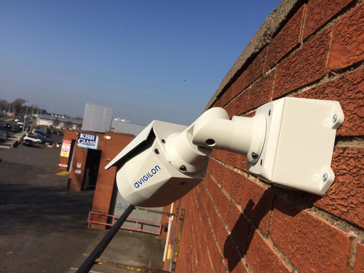 Avigilon H4SL ccctv camera fitted in south Dublin by Usee.ie
