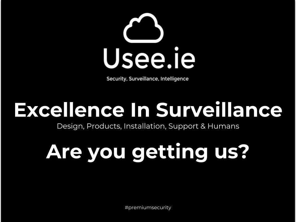 Excellence in surveillance by Usee