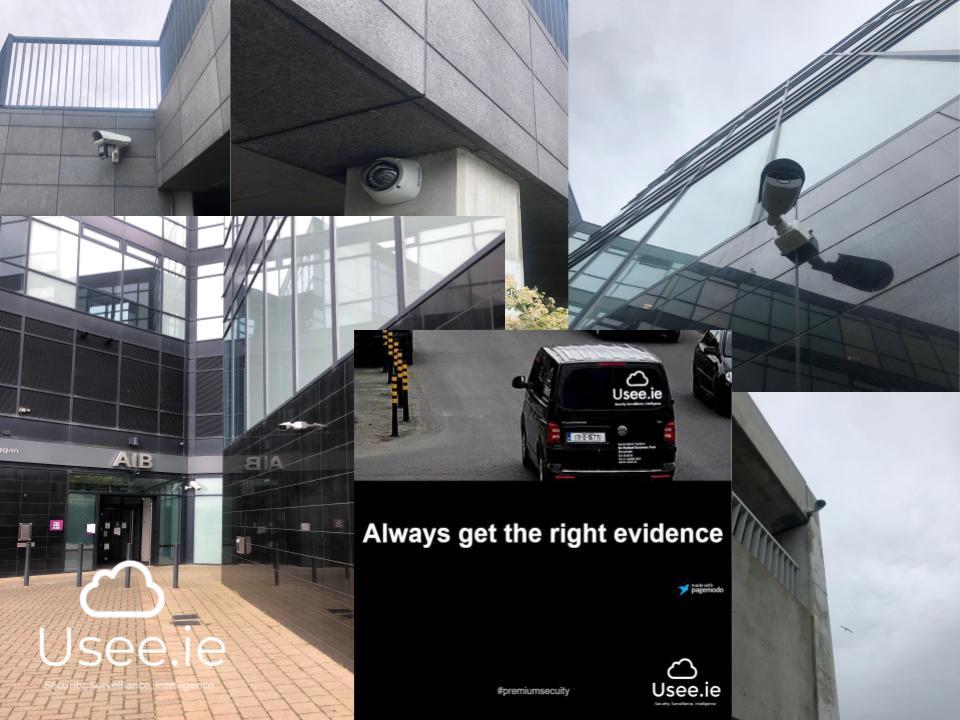 Avigilon CCTV at Business Campus in North Dublin