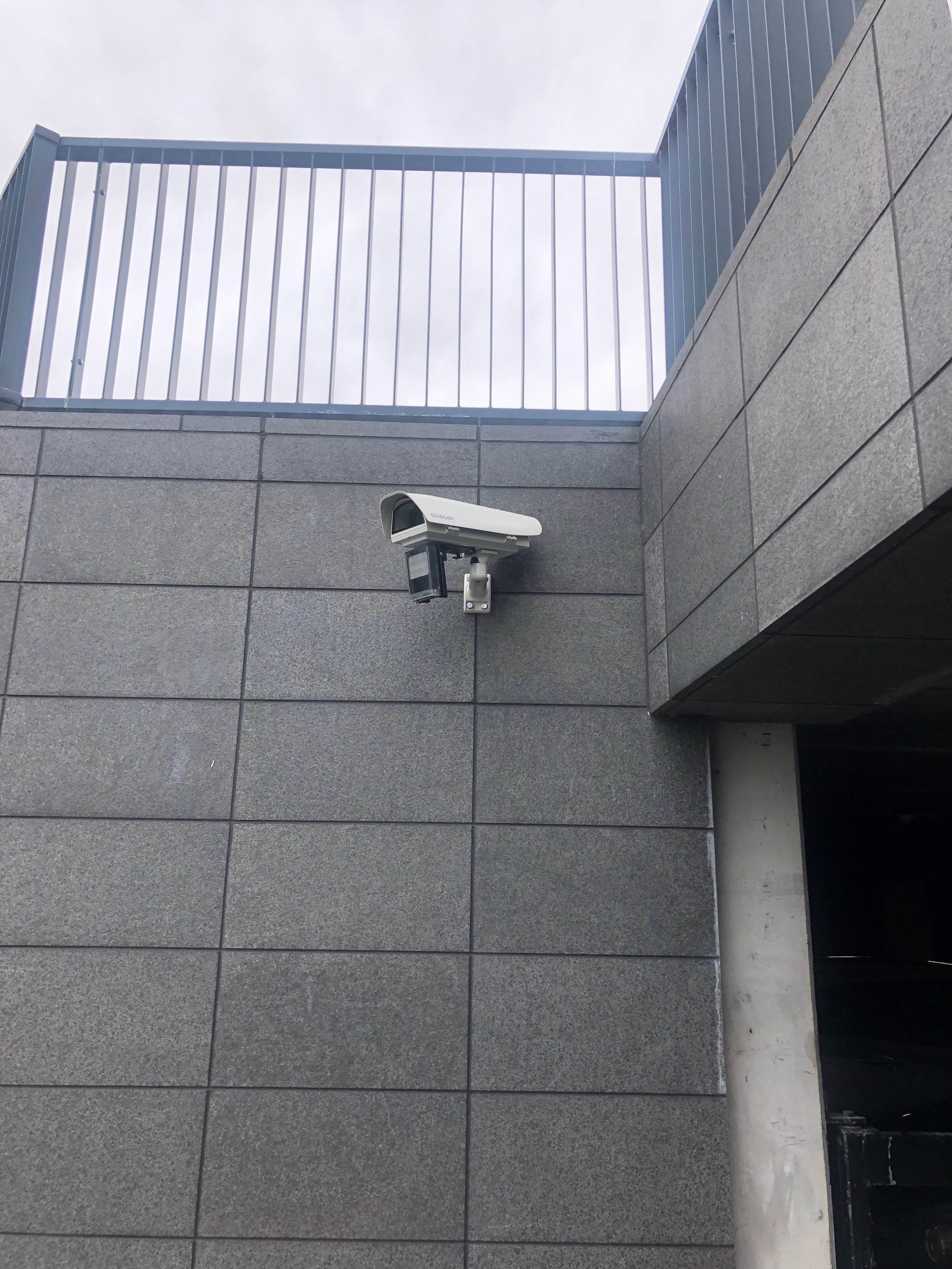 Avigilon anpr camera by Usee in action