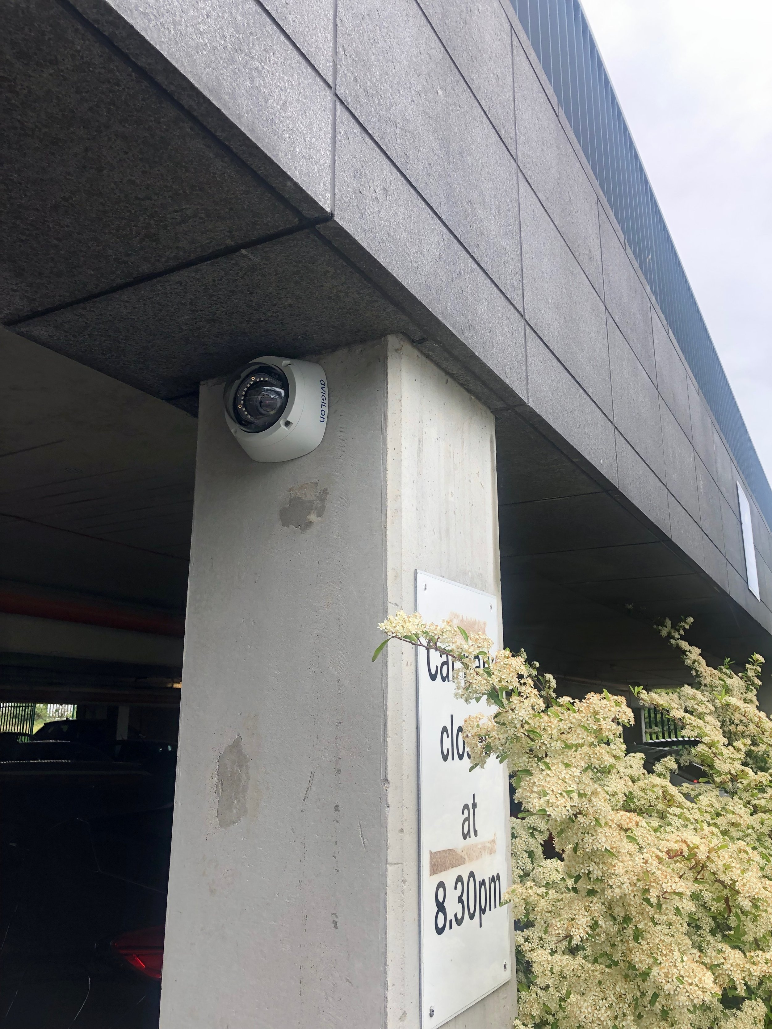 Vandal proof CCTV by Usee