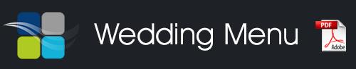 + download our current Wedding Menu (PDF)