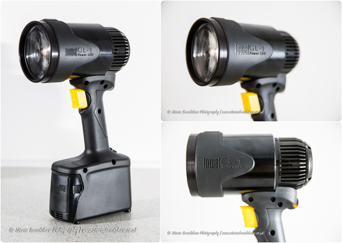 The Lowel GL1 LED Hotlight