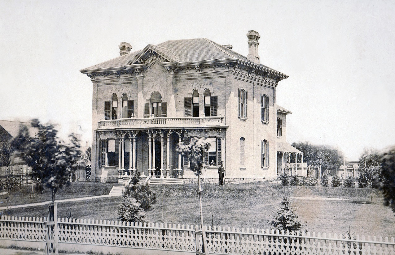 The Williams Funeral Home building was originally a home designed and built by John T. Finlay. This is the oldest photograph we have of our Historic building; Dated approx. 1842. Several renovations and changes happened throughout the years, but the buildings core architecture and historic detailing remains.