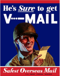 He's Sure to Get V Mail