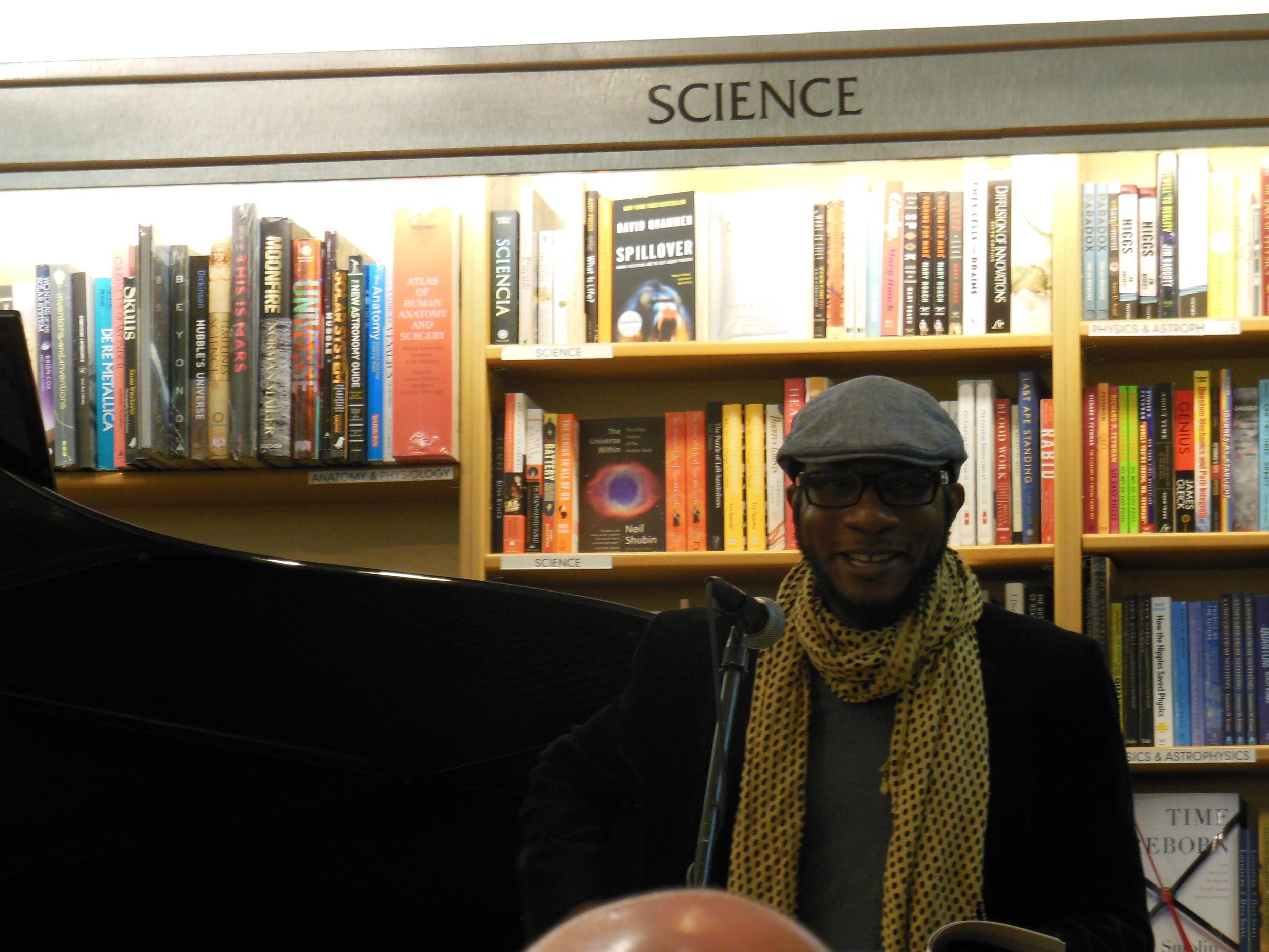 Teju Cole sings the praises of Australian writer Gerald Murnane. Photo: Katarina Godár