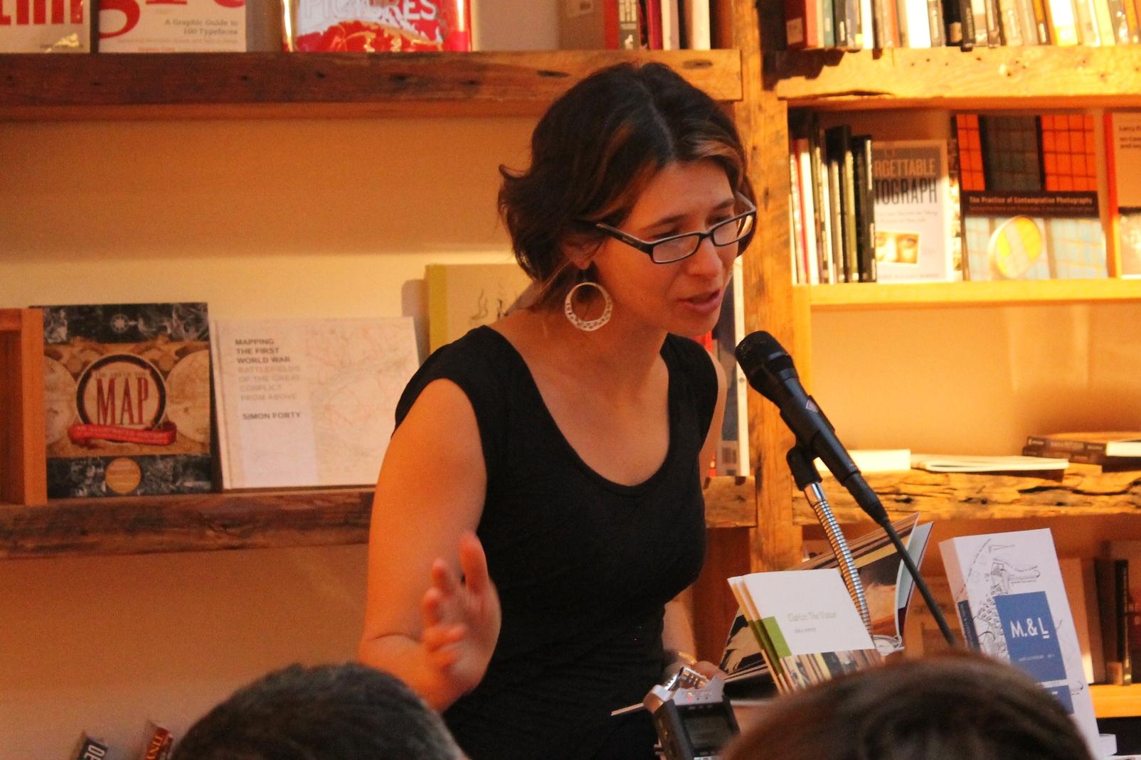 Idra Novey reads from Cahier 23 at BookCourt © Rachel Caplan
