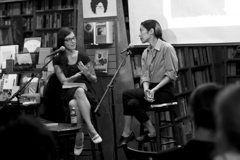 Katie Kitamura and Sarah Gerard in dialogue at McNally Jackson © Jesse Ruddock