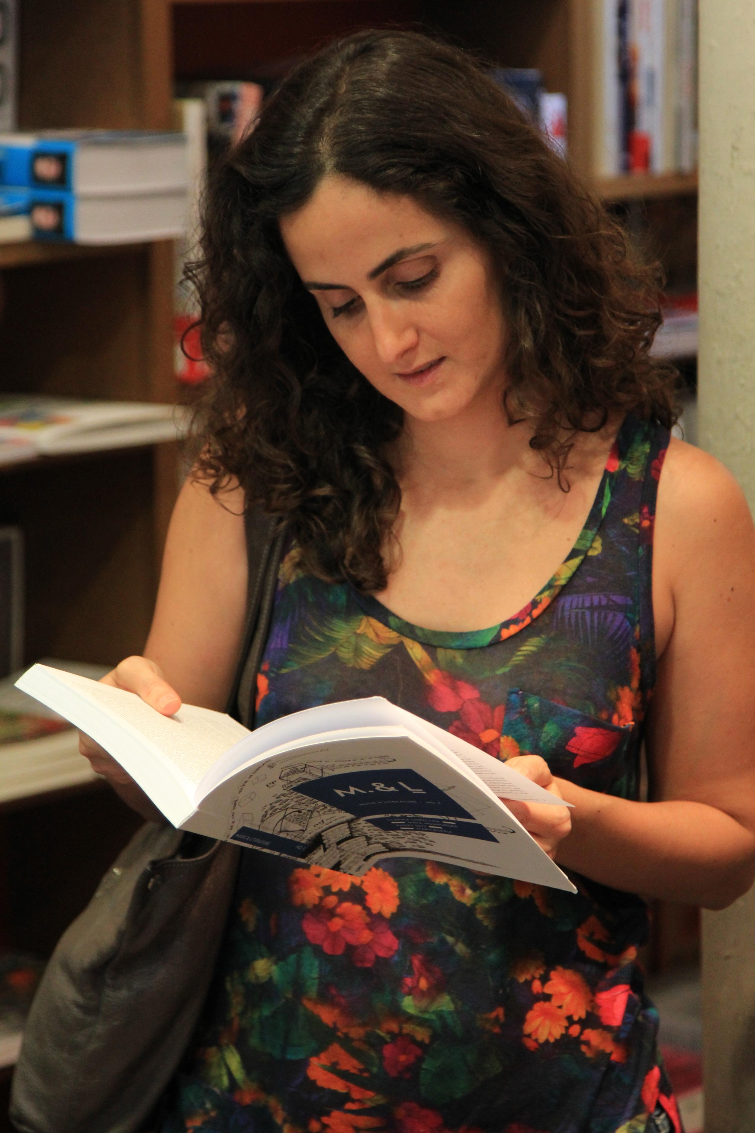 Tatiana Salem Levy. Photo: Dan Gunn.