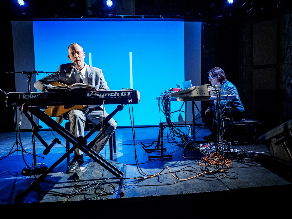 Matmos at ISSUE Project Room by Peter Gannushkin,  http://downtownmusic.net