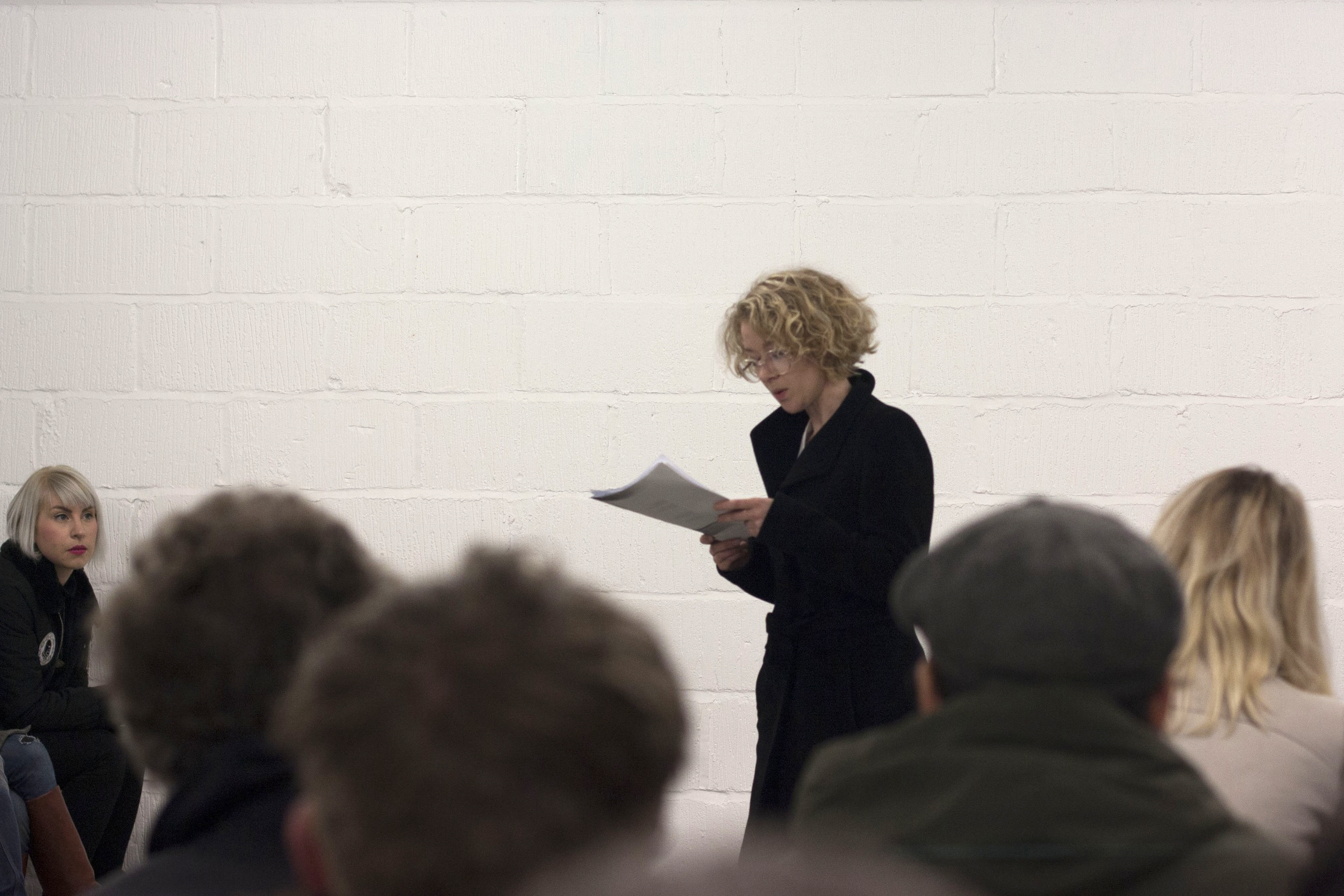 A reading by Holly Pester.