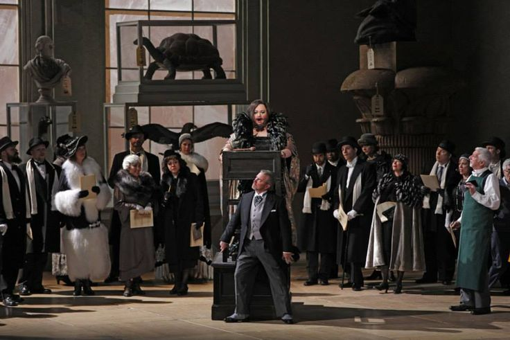 The Rake's Progress  at the Metropolitan Opera. Image © Marty Sohl